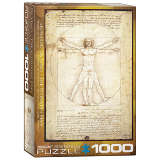 EuroGraphics Puzzle Vitruvius Man (1000 pieces)
