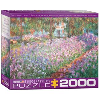 EuroGraphics Puzzle Monet's Garden (2000 pieces)