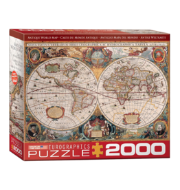 EuroGraphics Puzzle Antique World Map (2000 pièces)