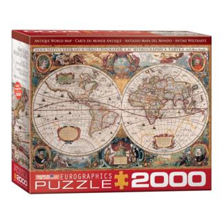 EuroGraphics Puzzle Antique World Map (2000 pièces)