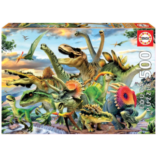 Educa Dinosaures (500 pieces)