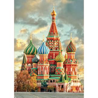 Educa Cathédrale de Saint-Basile, Moscou (1000 pièces)