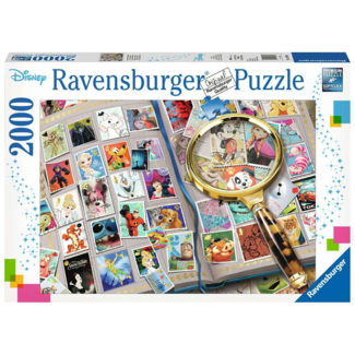 Ravensburger Disney - Mes timbres préférés (2000 pièces)
