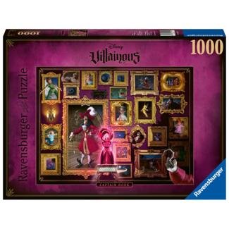 Ravensburger Disney Villainous - Capitaine Crochet (1000 pièces)