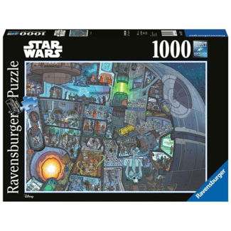 Ravensburger Star Wars - Where's Wookie? (1000 pieces)
