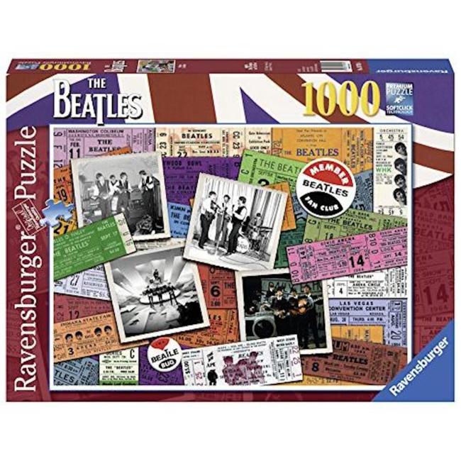 Ravensburger The Beatles - Tickets (1000 pièces)