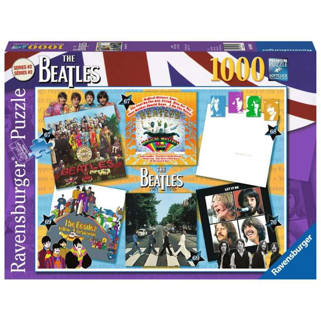 Ravensburger Beatles: Albums 1967-70 (1000 pieces)