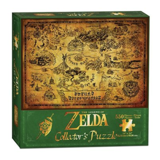 USAopoly The Legend of Zelda - Hyrule Map (550 pieces)