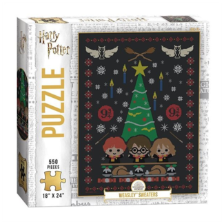 """USAopoly Harry Potter™ """"Weasley™ Sweaters"""" (550 pièces)"""