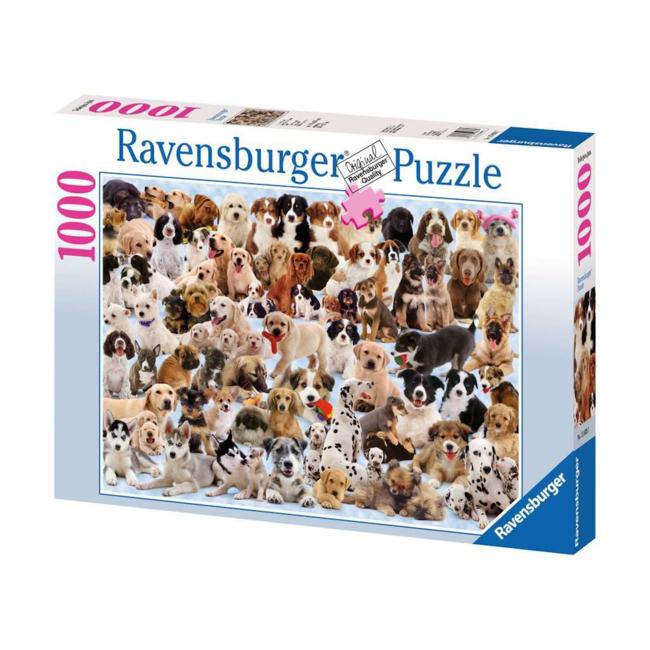 Ravensburger Portrait de chiens  (1000 pièces)