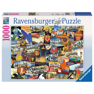Ravensburger Road Trip USA (1000 pieces)