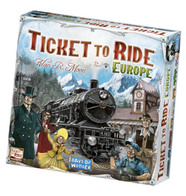 Days of Wonder Ticket to Ride - Europe [anglais]