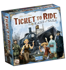 Days of Wonder Ticket to Ride - Rails & Sails [anglais]