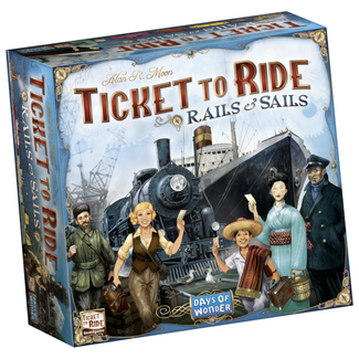 Days of Wonder Ticket to Ride - Rails & Sails [anglais]