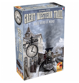 Eggertspiele Great Western Trail : Rails to the North [multilingue]