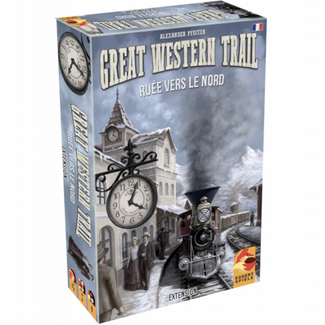 Eggertspiele Great Western Trail : Rails to the North [Multi]