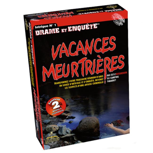Gladius Drame et enquête - Vacances meurtrières [French]