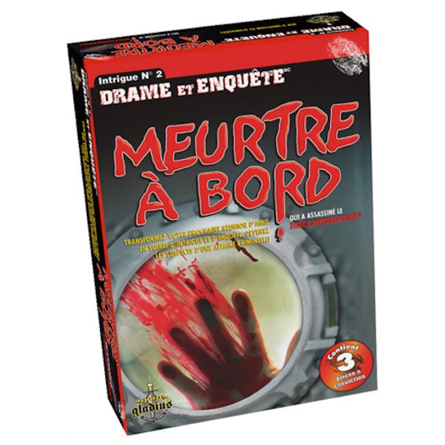 Gladius Drame et enquête - Meurtre à bord [français]