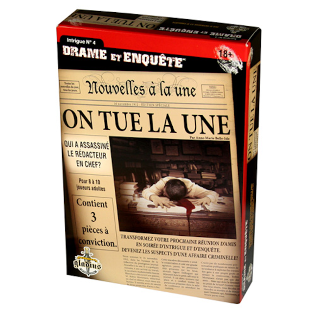 Gladius Drame et enquête - On tue la une [français]
