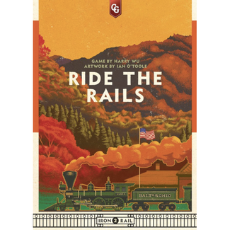 Capstone Games Ride the Rails [anglais]