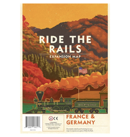 Capstone Games Ride the Rails : France & Germany [anglais]