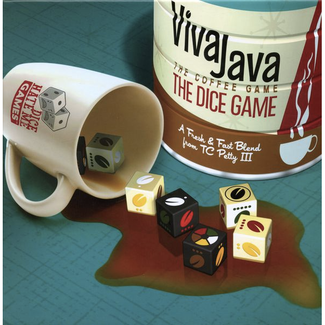 Greater Than Games VivaJava - The Dice Game [English]