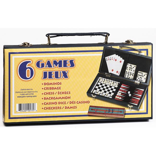 Sejenna 6 jeux en 1 [Multi]