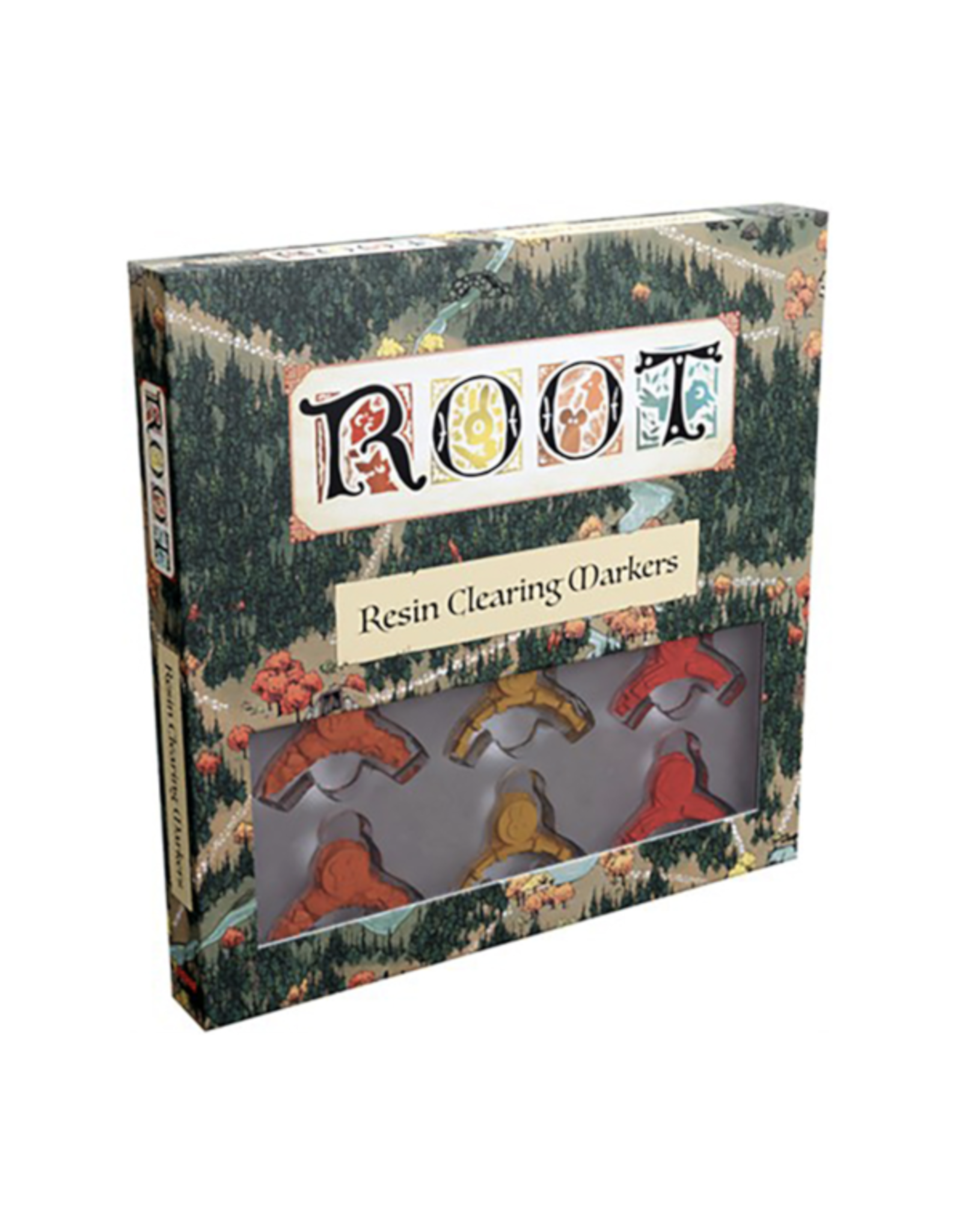 Leder Games Root : Resin Clearing Markers [anglais]
