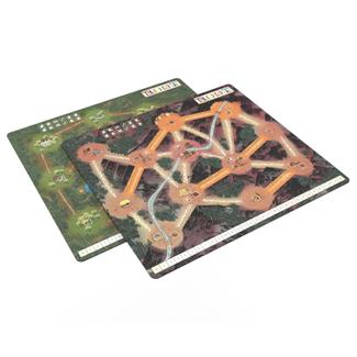 Leder Games Root : Playmat - Mountain/Lake [English]