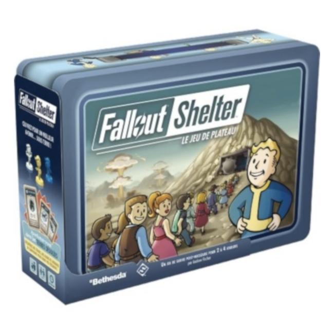 Fantasy Flight Games Fallout Shelter - Le jeu de plateau [French]