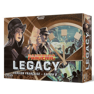 Z-Man Pandemic - Legacy - Saison 0 [French]
