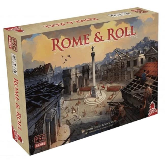 Super Meeple Rome & Roll [français]