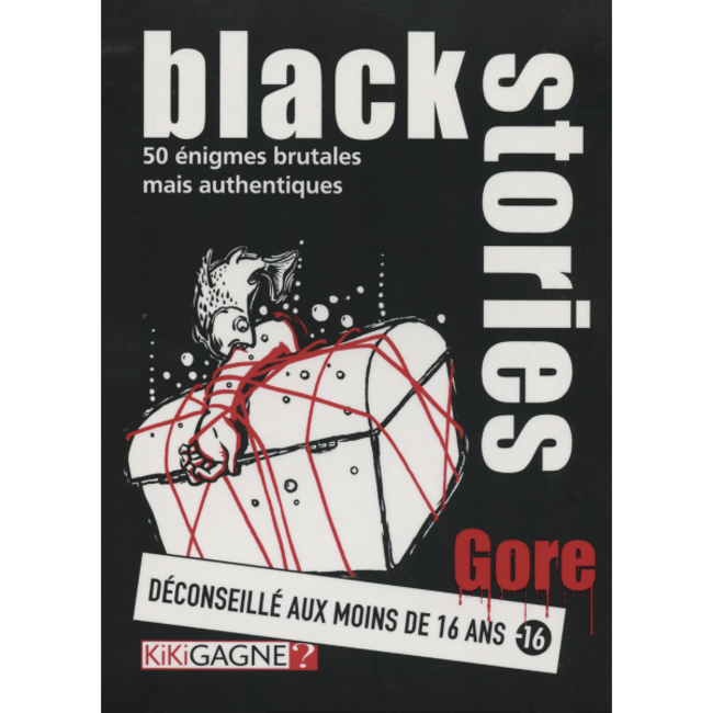 Kikigagne? Black Stories - Gore [French]