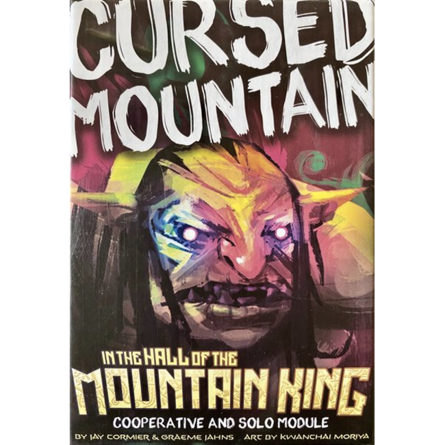 Burnt Island Games In the Hall of the Mountain King : Cursed Mountain [English]