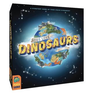 Pandasaurus Games Gods Love Dinosaurs [English]
