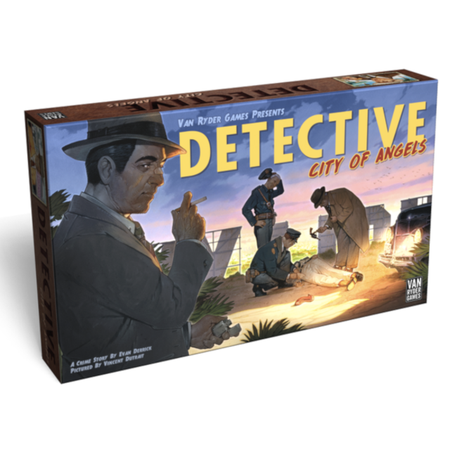 Van Ryder Games Detective - City of Angels [English]