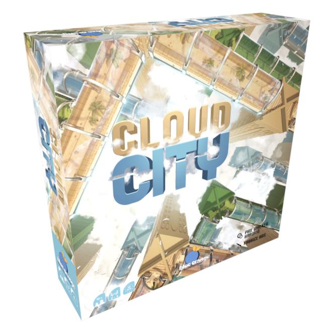 Blue Orange Cloud City [multilingue]