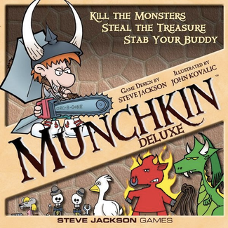 Steve Jackson Games Munchkin - Deluxe [anglais]