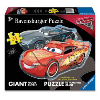 Ravensburger Cars 3 - Dueling Cars (24 pieces)