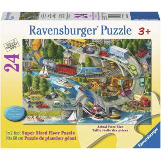 Ravensburger Effervescence des vacances (l') (24 pièces)