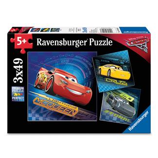 Ravensburger Cars 3 (3x49 pieces)