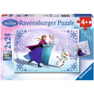 Ravensburger Reine des Neiges - Soeurs pour toujours (2x24 pieces)