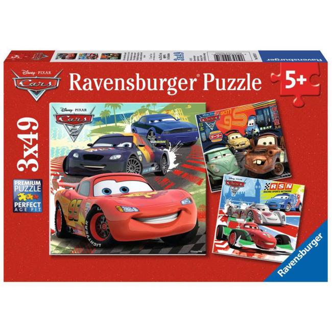 Ravensburger Cars 2 - Course autour du monde (3x49 pieces)