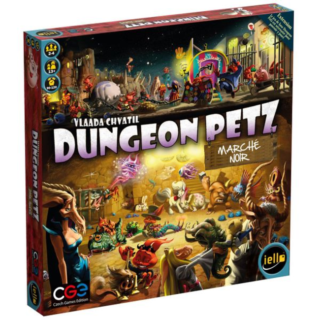 Iello Dungeon Petz : Marché noir [French]