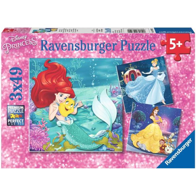 Ravensburger Aventure des princesses (3x49 pieces)