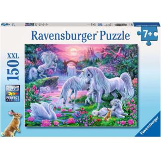 Ravensburger Licornes au couché de soleil (150 pieces)