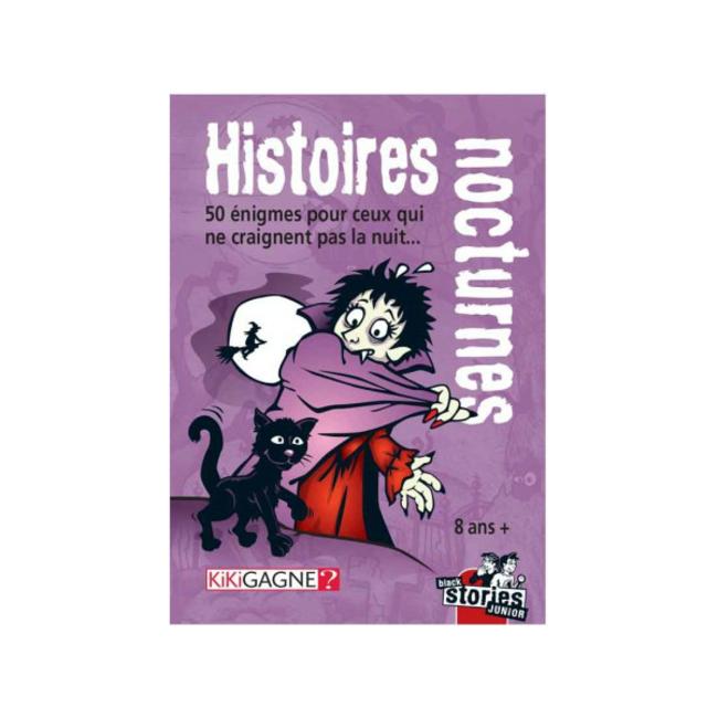 Kikigagne? Black Stories - Junior - Histoires nocturnes [French]