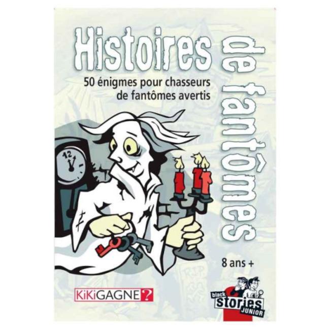 Kikigagne? Black Stories - Histoire de fantômes [French]