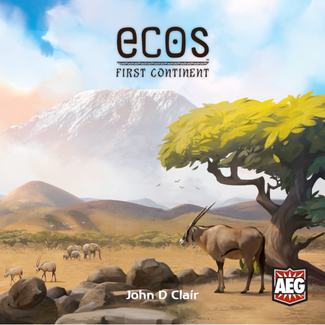 AEG Ecos - First Continent [English] ***Damaged box - 001 ***