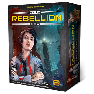 Indie Boards & Cards Coup - Rebellion G54 [English]